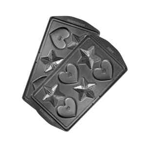 """Панель """"Сердечки и звёздочки"""" для мультипекаря REDMOND (форма для выпечки фигурного печенья и пряников) RAMB-24"""