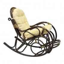 Кресло-качалка с подножкой, 05/11 Б (рогожка)