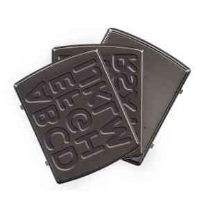 """Панель """"Английский алфавит"""" для мультипекаря REDMOND (форма для выпечки печенья в виде букв) RAMB-141"""