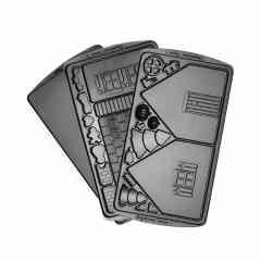"""Панель """"Домик"""" для мультипекаря REDMOND (форма для выпечки пряничного домика) RAMB-14"""
